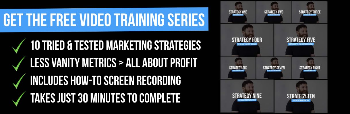 Neil Shoney Maclean FREE Digital Marketing Training Series